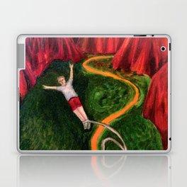 Bungee Jumping Laptop & iPad Skin
