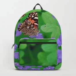 Butterfies, Violets & clover Backpack