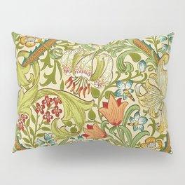 William Morris Golden Lily Vintage Pre-Raphaelite Floral Pillow Sham