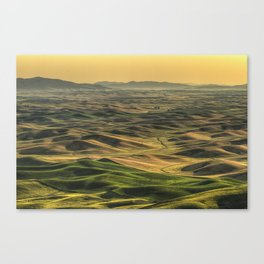 Shades of the Palouse Canvas Print