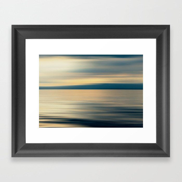 CLOUD SHADOW DREAM Framed Art Print