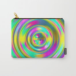 Pastel Swirl Carry-All Pouch