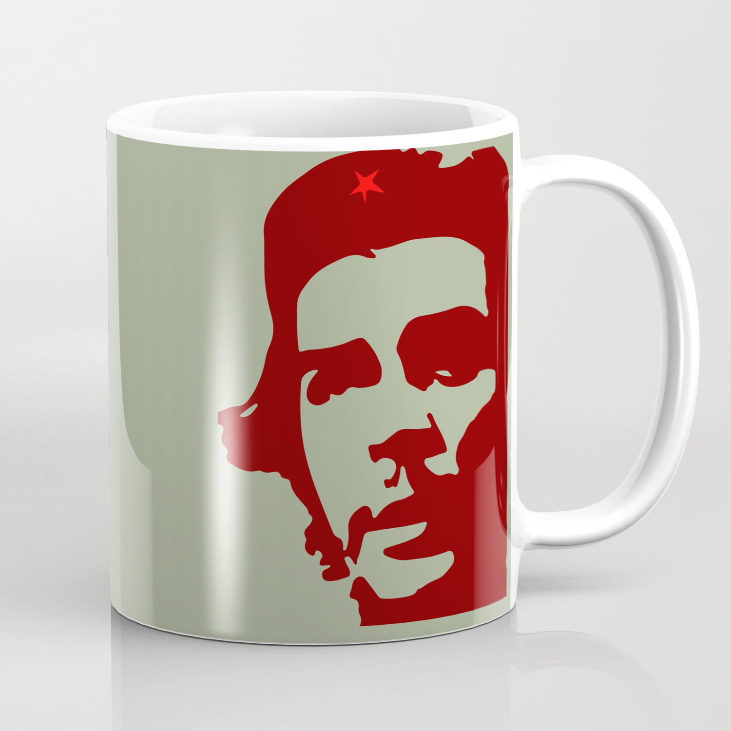 Ernesto Che Guevara The Hero Coffee Mug By Sofiayoushi Society6