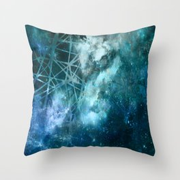 ε Aquarii Throw Pillow