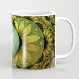 The Enchanted Feathers of the Golden Snitch Coffee Mug