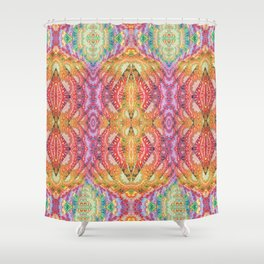 Psychedelic Journey GOA 1 Shower Curtain