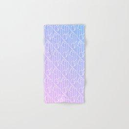 Crystal Pattern Hand & Bath Towel