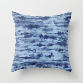 Stratus Denim Throw Pillow