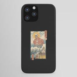 Titan In Edo iPhone Case