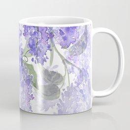 Purple Wisteria Flowers Coffee Mug