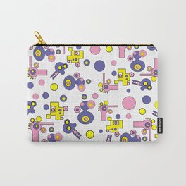 PastelPattern Carry-All Pouch