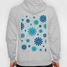 Flowers pattern 215 Hoody