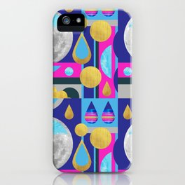 Abstractions No. 3: Moon iPhone Case