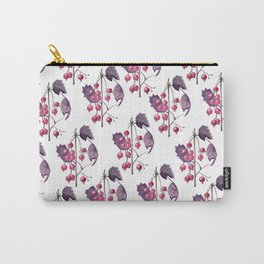 Watercolor Berries in Magenta Carry-All Pouch