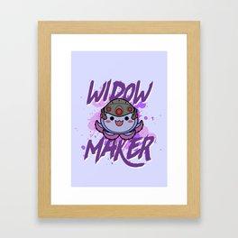 Widowmaker Pachimari Framed Art Print