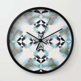 Healing Sky Cloud Mandala Wall Clock