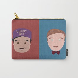 Gustave & Zero - Grand Budapest Hotel Carry-All Pouch