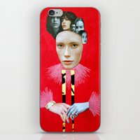 baroque iPhone & iPod Skins featuring Baroque by Mimi Rico