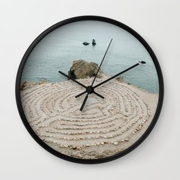 Lands End Labyrinth, San Francisco Wall Clock