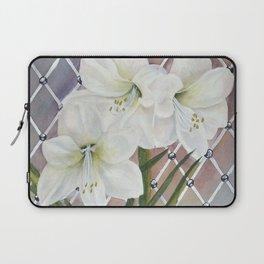 Amaryllis lily Flowers Laptop Sleeve