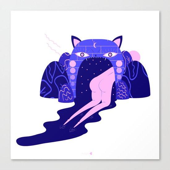 magical girl Canvas Print