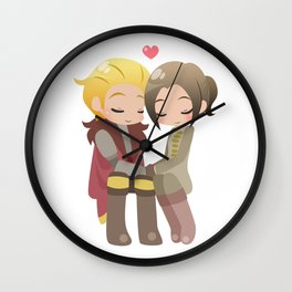 Dragon Age - Cullen and Inquisitor [Commission] Wall Clock