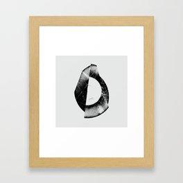 Vinyl Fold 2 Framed Art Print