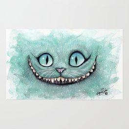 Cheshire Cat - Drawing - Dibujados Rug