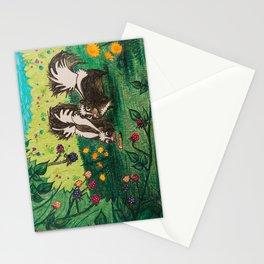 Skunk Picnic Stationery Cards