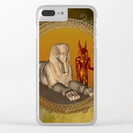 Egyptian sign Clear iPhone Case