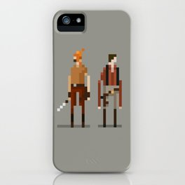 Brains and Brawn iPhone Case