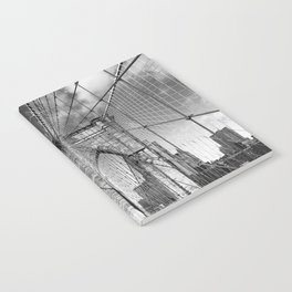 Brooklyn Bridge New York City Notebook