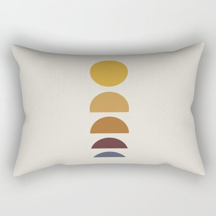 Minimal Sunrise / Sunset Rectangular Pillow