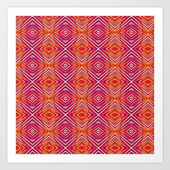 VIBRANT colours Art Print