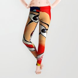 Birthday Clown Leggings