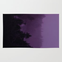 Purple Fog Rug