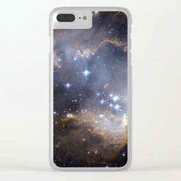 star clusters Clear iPhone Case