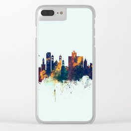 Middlesbrough England Skyline Clear iPhone Case