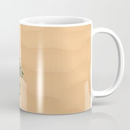 Olive branch in sand Dunes Coffee Mug