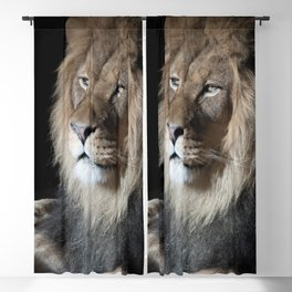 Portrait of a King Blackout Curtain