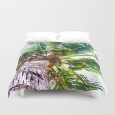 How About Those Coconuts Duvet Cover