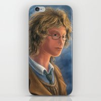 good omens iPhone & iPod Skins featuring Good Omens: Aziraphale by Katerina Romanova