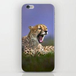 The Cheetah iPhone Skin