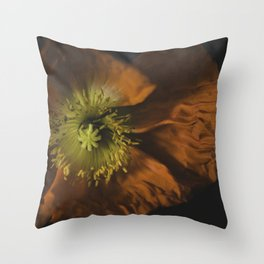 P O P P Y Throw Pillow