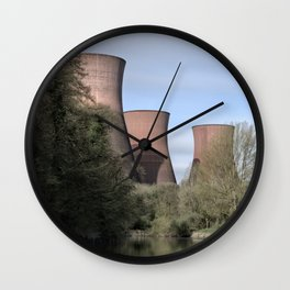 The Ironbridge Power Station Wall Clock