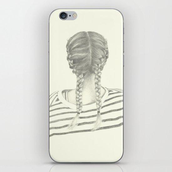 French braids 01 iPhone & iPod Skin