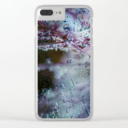 Concept frozen : Frozen nature Clear iPhone Case