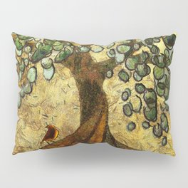 Twisted Oak Tree Pillow Sham