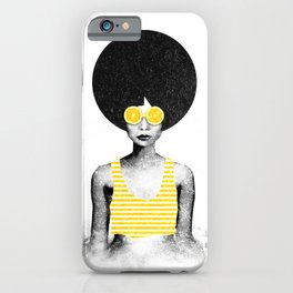 Lemon Jazz iPhone Case