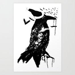 Bird Feathers Art Print